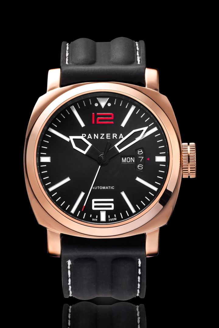 A45-03R Automatic Ocean Watch Collection by PANZERA Australian Watch Brand